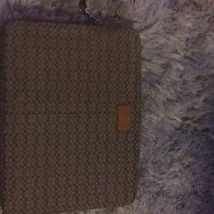 Coach laptop cover like new